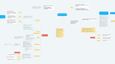 Mind Map: COACH DE SALUD