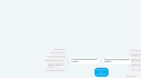 Mind Map: SEGÚN TIPOS DE AISLAMIENTO