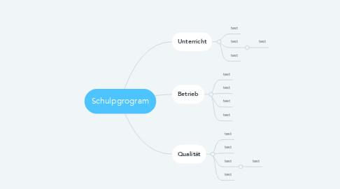 Mind Map: Schulpgrogram
