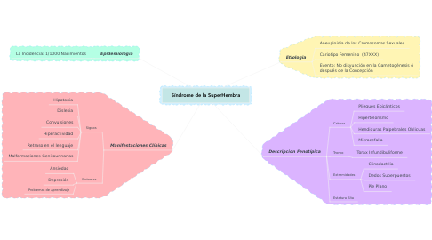 Mind Map: Síndrome de la SuperHembra