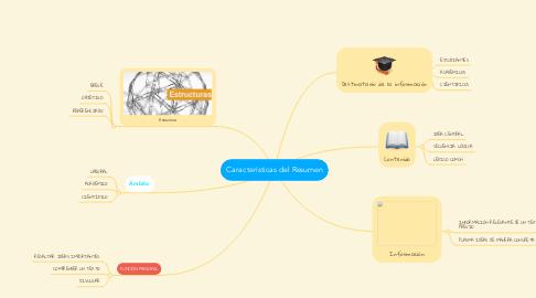 Mind Map: Caracteristicas del Resumen