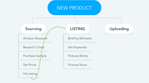Mind Map: NEW PRODUCT