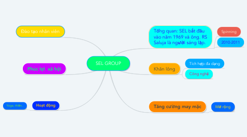 Mind Map: SEL GROUP