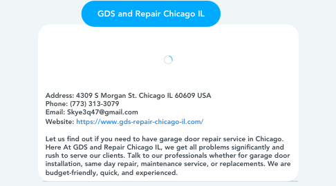 Mind Map: GDS and Repair Chicago IL
