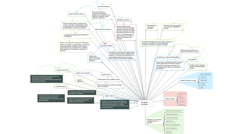 Mind Map: Proyecto innovador