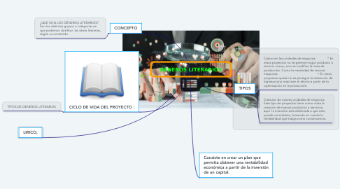 Mind Map: PROYECTO DE INVERSIÓN PRIVADA