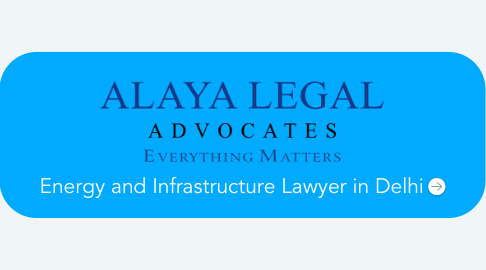 Mind Map: Energy and Infrastructure Lawyer in Delhi