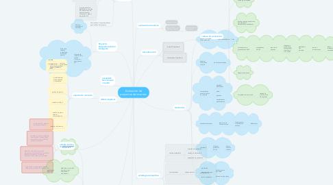 Mind Map: Evaluación de proyectos de inversión