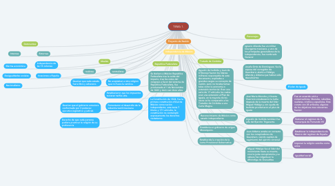 Mind Map: TEMA 1.