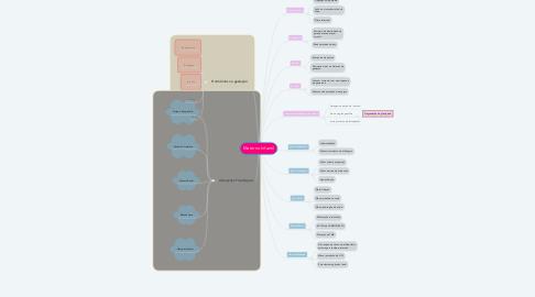Mind Map: Materno Infantil