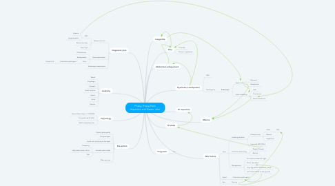 Mind Map: Phang Thong Perm Impaction and Gastric ulcer