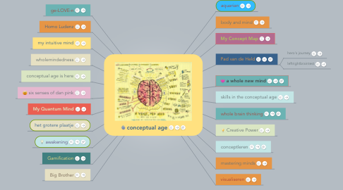 Mind Map: droomwens