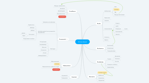 Mind Map: Elintarvikkeet