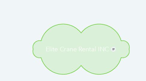 Mind Map: Elite Crane Rental INC