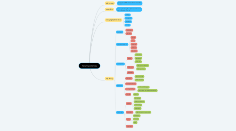 Mind Map: New Experiences