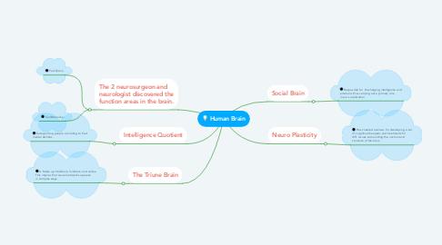 Mind Map: Human Brain