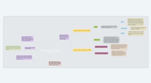 Mind Map: Generalidades del Sistema Nervioso