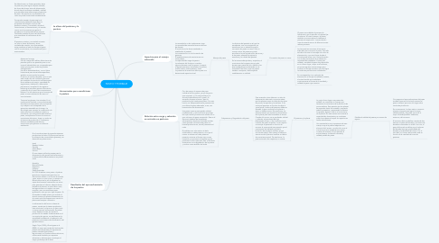 Mind Map: PASTO Y FORRAJE