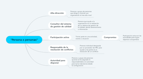 "Mind Map: ""Persona o personas"""