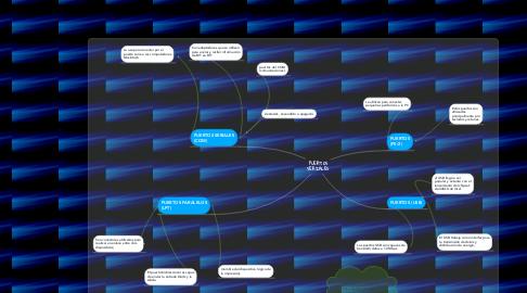 Mind Map: PUERTOS SERIALES
