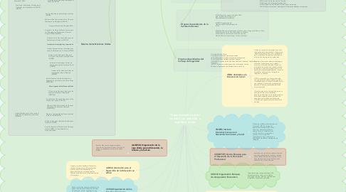 Mind Map: Organizaciones a nivel mundial con atención  a la política social.