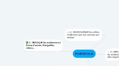 Mind Map: PORTAFOLIS