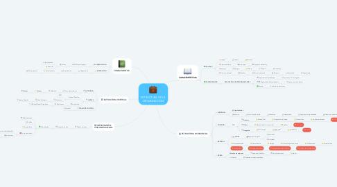 Mind Map: ESTRUCTURA DE LA ORGANIZACIÓN