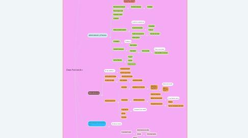 Mind Map: Áreas Funcionales