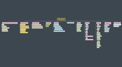 Mind Map: ابوبكر الصديق