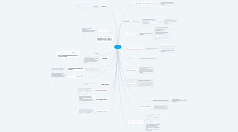 Mind Map: coso
