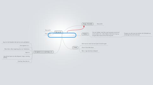 Mind Map: De 7 dødssynder - hvad ved I?