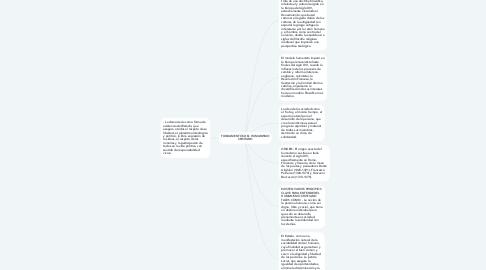 Mind Map: FUNDAMENTOS DEL HUMANISMO CRISTIANO