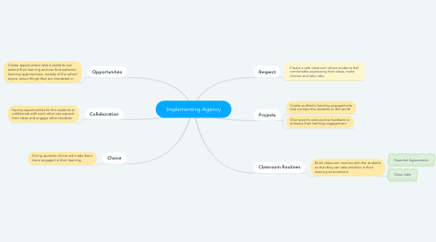 Mind Map: Implementing Agency