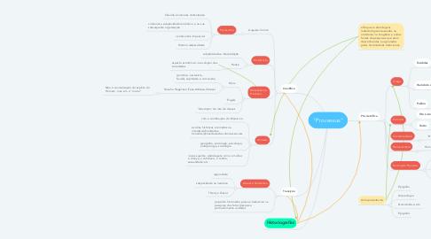 """Mind Map: """"Processus"""""""