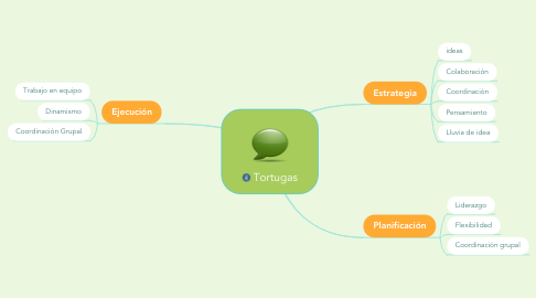 Mind Map: Tortugas