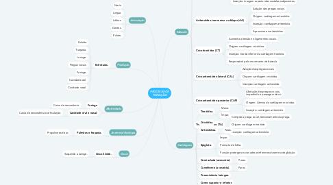 Mind Map: PROCESSO DE FONAÇÃO