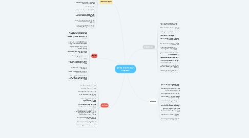 Mind Map: נישות מרכזיות בתחום המספרה