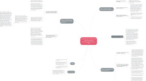 Mind Map: A Unica Coisa: O Foco Pode Trazer Resultados Extraordinários Para Sua Vida