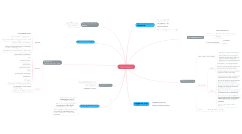 Mind Map: Needs Deafspaces