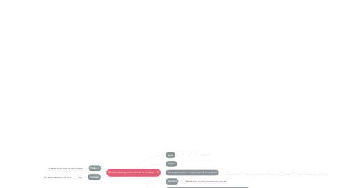 Mind Map: Niveles de organización de la materia  (1)