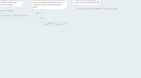 Mind Map: MEDIDAS DE TENDENCIA             CENTRAL               La medidas de centralización nos indican en torno a qué valor (centro) se distribuyen los datos