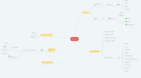 Mind Map: La mezcla de la mercadotecnia