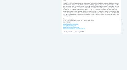 Mind Map: The Davis Firm, LLC