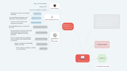 Mind Map: Tipos de Competencias