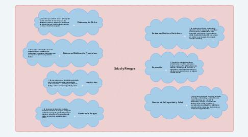 Mind Map: Salud y Riesgos
