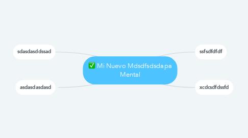 Mind Map: Mi Nuevo Mdsdfsdsdapa Mental