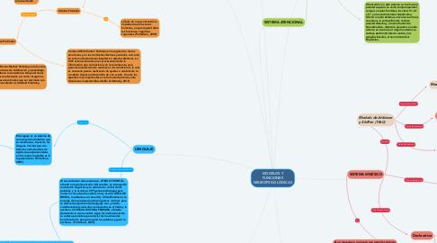 Mind Map: MODELOS Y FUNCIONES NEUROPSICOLÓGICAS