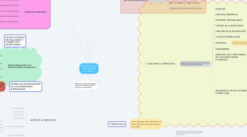 Mind Map: REALIZACIÓN DE INSPECCIONES PLANEADAS
