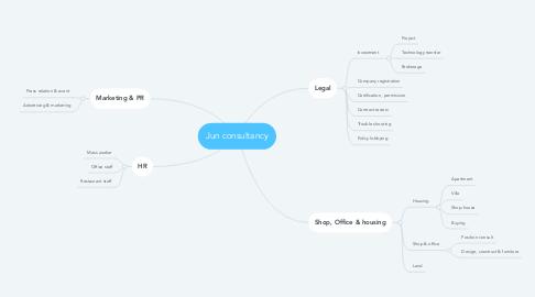 Mind Map: Jun consultancy