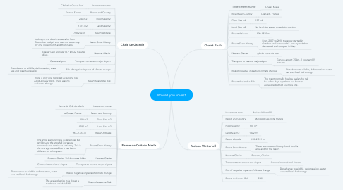 Mind Map: Would you invest